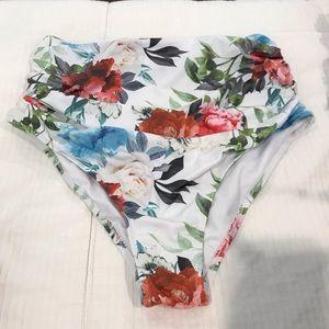 Women's High Waisted Swim Suit Bottoms
